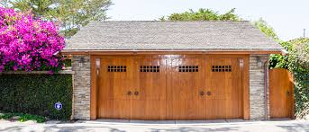 wood garage doors are stylish and durable
