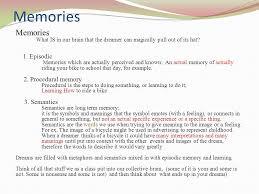 3 memories