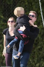 James Corden takes son Max to the park for a fun-filled morning of ... via Relatably.com