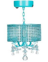 locker chandelier blue