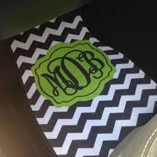 chevron car floor mats.  Mats Car Mats Chevron Personalized Monogrammed Floor Mat Initial Lime Green  Black On