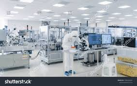 Pharmaceutical Quality Control Laboratory Design Shot Of Sterile Pharmaceutical Manufacturing Laboratory