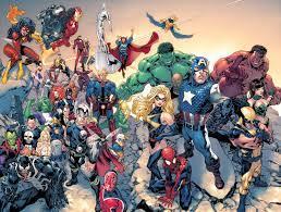 All marvel characters, Marvel comics ...