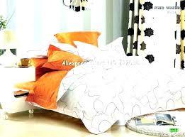 blue and orange king comforter grey bedding sets twin regarding great silver set