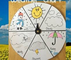 Weather Color Chart Weather Chart Craft Project