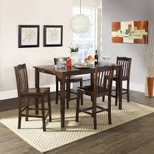 Better Homes And Gardens Kitchen Better Homes And Gardens 5 Piece Counter Height Dining Set Dark
