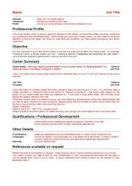 Resume Reason For Leaving Job Examples 100 Great Curriculum Vitae Templates Examples Template Lab 93