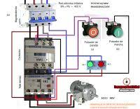three phase dol starter wiring three image wiring 3 phase starter wiring diagram wiring diagram schematics on three phase dol starter wiring