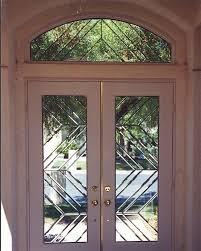 z bevels entry door glass transom window