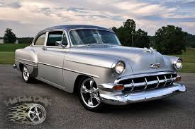 They Call Me Mr. Tuxedo: Restomod '54 Chevy Bel Air | eBay Motors Blog