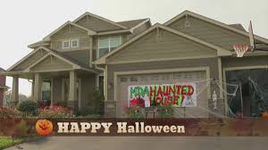 12-Year-Old Converts Family's Garage To Haunted House For Charity