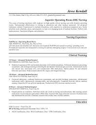 Nurse Resume Example Classy Nurse Resume Example OR Operating Room Nurse Resume Free