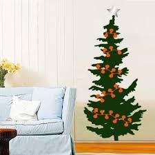 Christmas Tree Wall decal Idea | Christmas tree vinyl wall decal