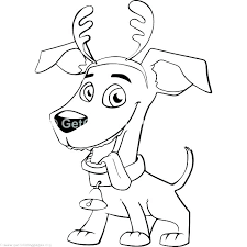 Littlest Pet Shop Coloring Pages Dog Coloring Pages Cute Dogs