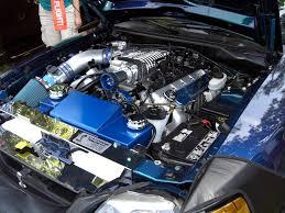 Mysti-Chrome Blue 2004 Ford Mustang SVT Cobra Coupe ...