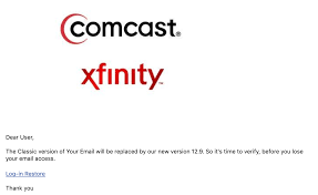 The xfinity xfi app is available for android and ios smartphones and tablets. Scam Emails About Comcast Email Comcast Xfinity
