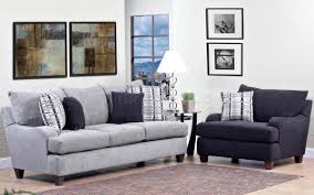 Light grey couch Loveseat Budeseocom Light Grey Fabric Modern Sofa Accent Chair Set Woptions