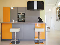 Wohnraum mit Kücheninsel – WIesenART Zingst