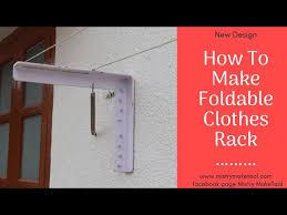 wall mount drying rack new idea