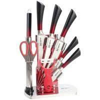 <b>Набор</b> из 5 кухонных <b>ножей</b>, подставка (лапша) <b>ECO</b>-<b>STYLE TimA</b> ...