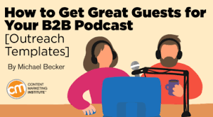 great papers templates how to get great guests for your b2b podcast outreach