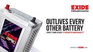 Exide Indias Top Selling Automotive Battery