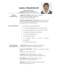 Resume Examples For Jobs Resume Examples For Jobs Examples of Resumes 28