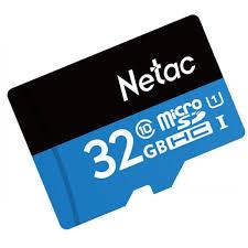 Thẻ Nhớ dùng camera và điện thoại Micro SD Netac 32GB - Hàng nhập khẩu - Thẻ  nhớ điện thoại