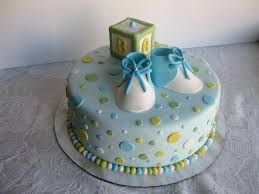 Simple Baby Shower Cakes Sweetridesinfo