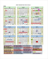 Vacation Calendar Templates 7 Vacation Calendar Templates Pdf Excel Free Premium