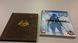 rise of the tomb raider 20 year celebration artbook edition unboxing