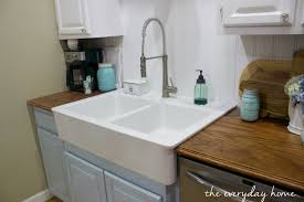 ikea farmhouse sink single bowl. IKEAFarmhouseSink The Everyday Home Wwweverydayhomeblogcom For Ikea Farmhouse Sink Single Bowl
