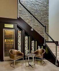 Under Stairs Wine Closet