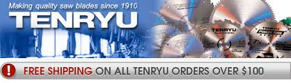 tenryu blades. shop tenryu saw blades at wood werks supply