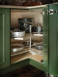 Kitchen Lazy Susan Cabinet Tripod Corner Susan Clever Storage By Kessebaphmer