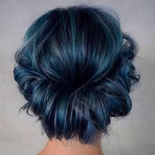25 Eye-Catching Dark Blue Hair Color Ideas \u2014 Mystery in Your Loc ...