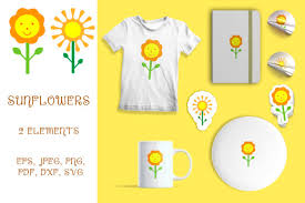 Please purchase a commercial license if you wish to use this design on tangible items you intend to sell. 0 Sunflower Elements Designs Graphics