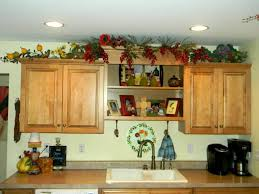 Above Kitchen Cabinet Decorating Ideas Have A Trendy Kitchen By