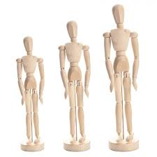 wooden crafts home decor figurines wooden joints puppets flexible human model home painting sketch wooden 8