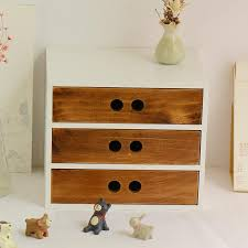2019 diy wooden box cosmetic drawer makeup organizer case storage the insert holder box jewelry stationery storage admission box from tanguimei6