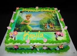 Tinkerbell Birthday Cake B0279 Circos Pastry Shop