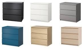 ikea furniture colors. IKEA Malm 3 Drawer Chest Different Colors   EBay Ikea Furniture K