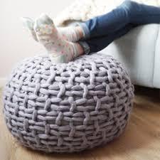 Knitted Pouf Australia
