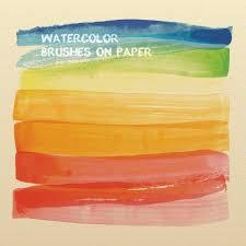 Watercolor Brushes Illustrator Free Vectors Vector Free