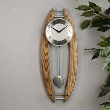 cambridge wood and glass pendulum wall