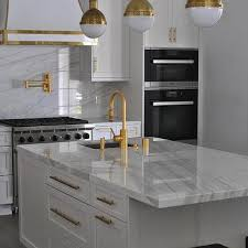 gold kitchen faucet. White Kitchen With Gold Accents Faucet H