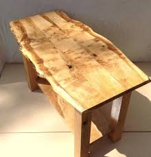 solid oak end tables live edge table coffee tops uk