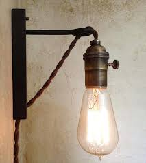 plug in wall sconce fantastic retro wall sconces best ideas about plug in wall sconce on plug in wall sconce