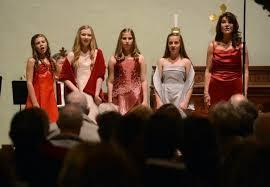 Carissa Ferguson, Ella Maria Griffith, Juliette Bonnlander, and Sophia  Bonanno sing with Sewell Jeter Griffith … | Christmas program, Comfort and  joy, Christ church