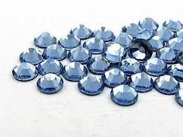 Modré Kamínky Swarovski